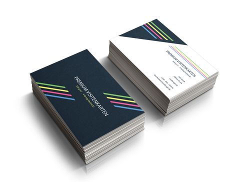 Details Zu Premium Visitenkarten Druckeneinseitig Oder Beidseitigfarbigprofi Druck